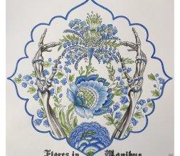 """Peinture """"Flores in Manibus"""""""