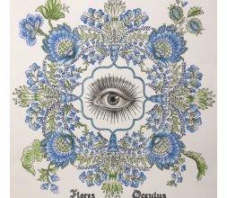 """Peinture """"Flores-Occulus"""""""