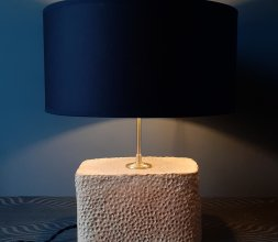 """Pied de Lampe """"Cratère"""""""