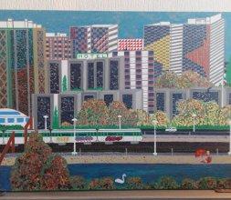 Paysage urbain confiné