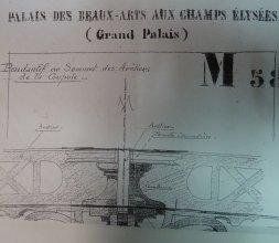 Pendentif sous coupole, Grand Palais, Paris