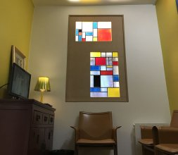Claustra style Mondrian