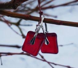 Collection Géorine - Boucles rouge