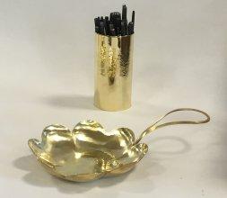 Coupelle et pot à crayons (...ou à ciselets)