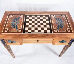 Table à jeux retro