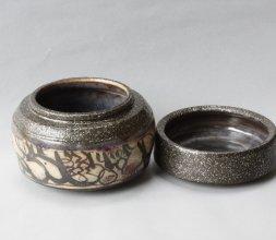 laque Urushi sur céramique de Catherine VANIER