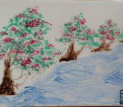 tableaux se Peinture chinoise traditionnelle peints