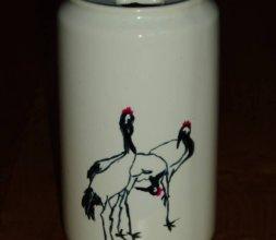vases en porcelaine peintes main