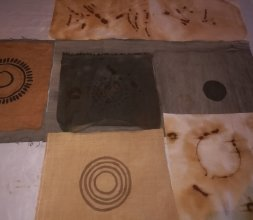 Batik sur coton