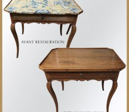 Table d'époque Louis XV