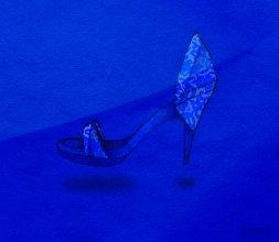 Blue's shoes