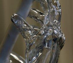 Pièce concours MOF en verrerie artistique - Pierre