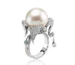Bague Pashmina South sea pearl 16mm