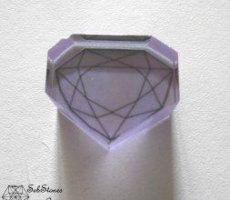 """Reconstitution du """"Diamant bleu de la Couronne"""""""