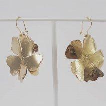 Boucles d'oreilles Hibiscus (2020)