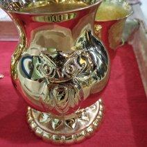 Vase aux hiboux
