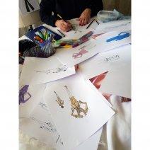 Claire Sarmadi, création et styliste