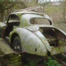 restauration XK 140 coupé