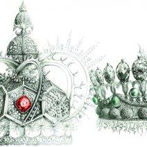 Couronne de Roi & Reine