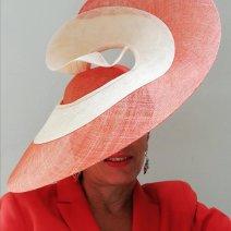 Sélina, chapeau de mariage