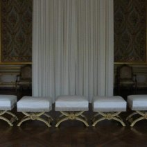 Chambre du Roi appartements privés, Château de Vers