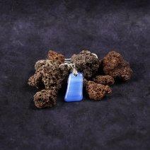 Collection Minérale - Colliers bleu marbré