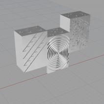 Projet Gavrinis en 3D sur rhino