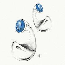Boucles d'oreilles Zéli