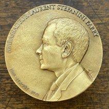 L'Ambassadeur Laurent STEFANINI – 60 ans – une méda
