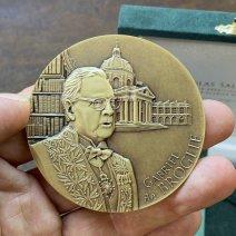 Médaille portrait de Gabriel de Broglie