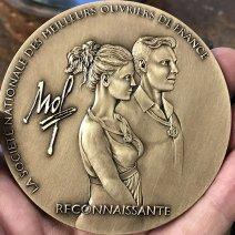 Médaille des 90 ans des MOF