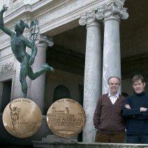 Médaille officielle de la Villa Médicis - Rome