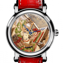 """montre bas relief """"Samourail"""