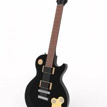 Modélisation 3D d'une guitare