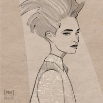 Illustration de mode // Fashion illustration